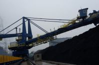 Coal supply and slag removal system for Opole Power Plant