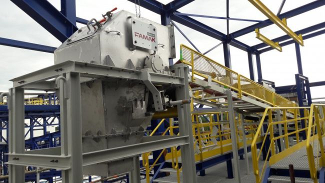 Portal loaders and conveyor systems for Azoty Group