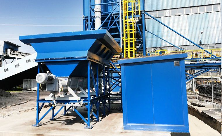 Systems for the verification of conveyor belt weighers -  Gallery